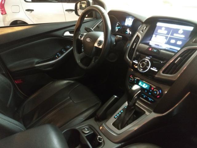 Focus sedan titanium plus c/ Teto 2014 - Foto 9