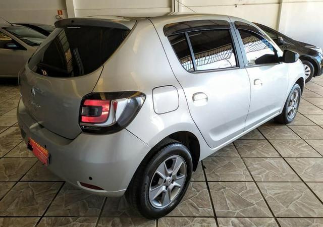 Renault sandero vibe 1.0 2018 impecável - Foto 4