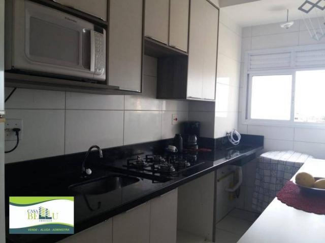 Apartamento com 2 dormitórios à venda, 54 m² por r$ 185.000 - companhia fazenda belém - fr - Foto 6