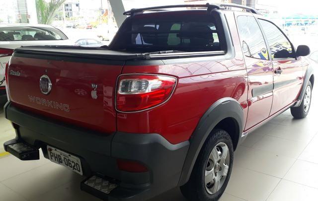 Fiat Strada 1.4 cabine dupla financio - Foto 2