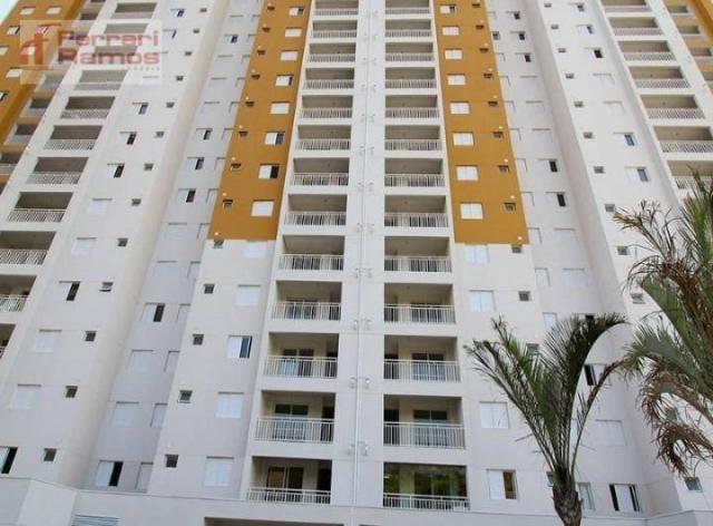 Apartamento com 3 dormitórios à venda, 72 m² por r$ 425.000,00 - vila augusta - guarulhos/