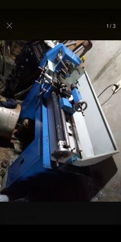 Mini torno mecânico BVB25L - Foto 3