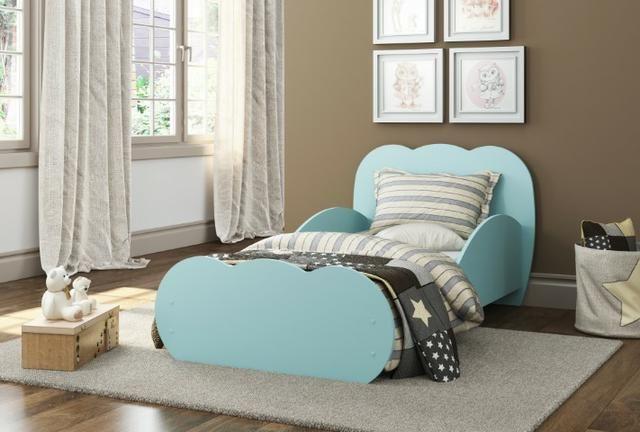 Mini Cama Nuvem Azul Premium. 008