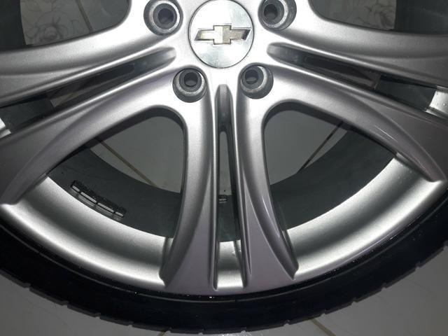 Rodas aro 20 com pneus + molas esportivas do Cruze - Foto 3