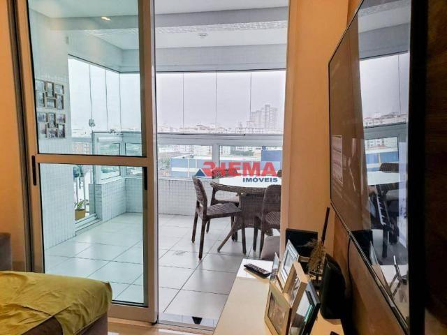 Apartamento com 2 dormitórios à venda, 64 m² por R$ 600.000,00 - José Menino - Santos/SP - Foto 9