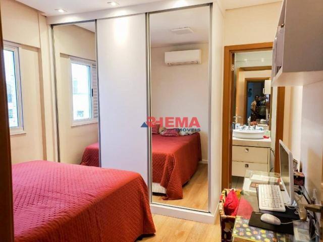 Apartamento com 2 dormitórios à venda, 64 m² por R$ 600.000,00 - José Menino - Santos/SP - Foto 14