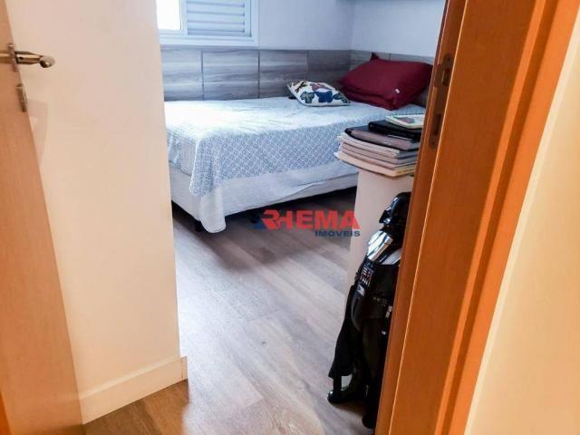 Apartamento com 2 dormitórios à venda, 64 m² por R$ 600.000,00 - José Menino - Santos/SP - Foto 19