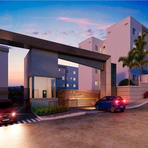 Residencial Flores do Verão - Apartamento 2 quartos em Biguaçu, SC - ID4063 - Foto 2
