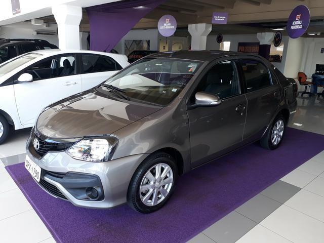 Etios sedan x plus 1.5 2019 apenas 25 mil km ipva 2020 pago