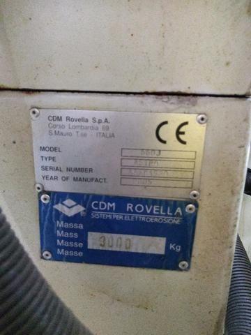 Eletroerosão de penetração CDM Rovella suporta peças grandes 2005 - Foto 6