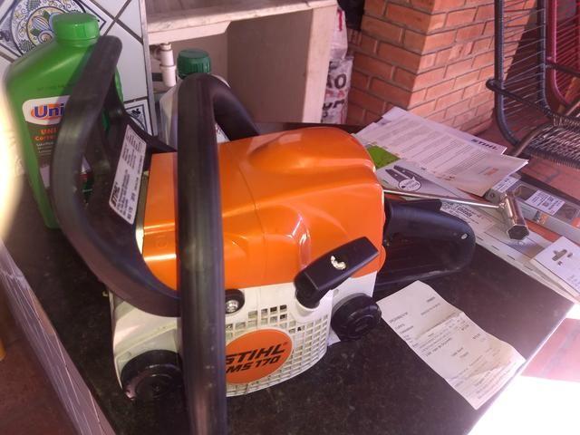 Moto serra a gasolina na caixa - Foto 2