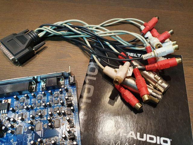 Placa Delta 1010LT - Interface de gravação para Home Estúdios