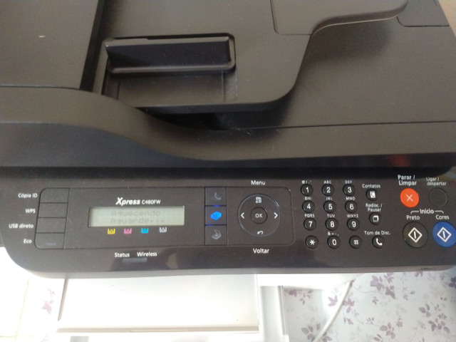 Impressora Samsung Xpress c480fw laser colorida - Foto 2