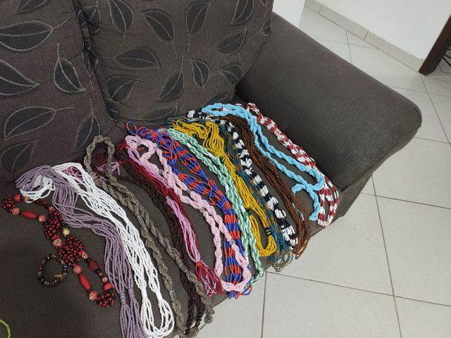 Guias, contas e cordão de orixá umbanda candomblé - Foto 5