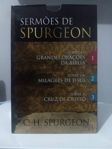 Sermões de Spurgeon impecável - Foto 3