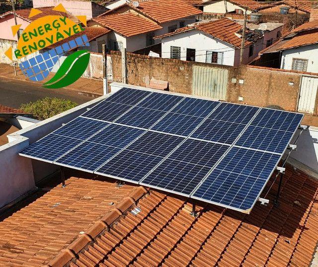 Sistema de energia solar- livre de contas de energia  - Foto 5