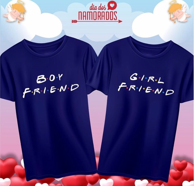 T-shirts Casal Dia dos Namorados - Foto 3