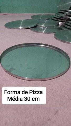 FORMAS PARA PIZZA 3 TAMANHOS - Foto 2