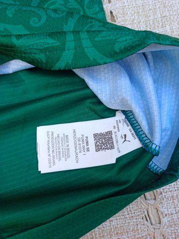 Camisa do Palmeiras Puma 2021 Original Importada Entrego - Foto 5