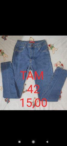 Calças jeans desapego - Foto 2