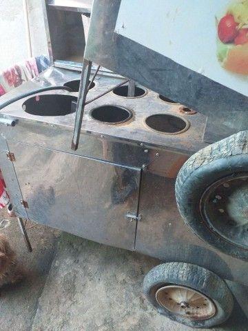 Vendo  dois carrinho de churrasco barato