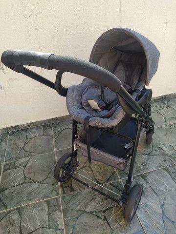 Carrinho de bebê moises com bebê conforto - Foto 4