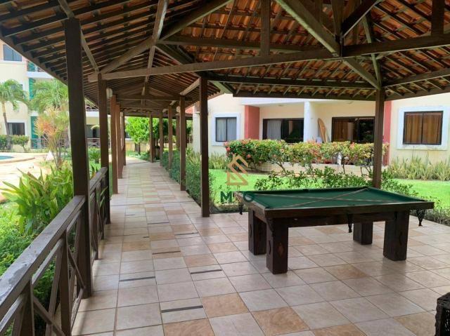 Apartamento com 1 dormitório para alugar, 52 m² por R$ 1.300/mês - Porto das Dunas - Aquir - Foto 8