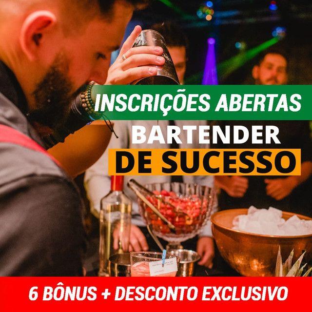 Curso de bartender online - 50% de desconto!!!