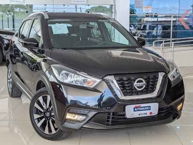Nissan Kicks 1.6 16V Flexstart SV 4P Xtronic 19/20 Preto!