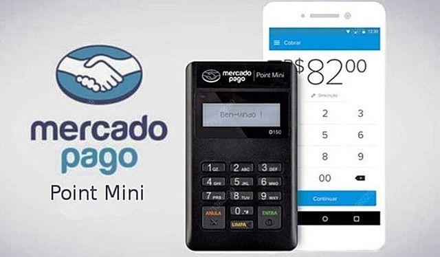 Maquininha Point Mini - A Máquina De Cartão Do Mercado Pago<br><br> - Foto 2
