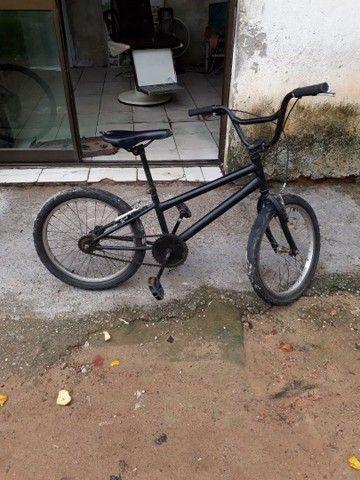 Bicicleta cros toda boa  - Foto 2