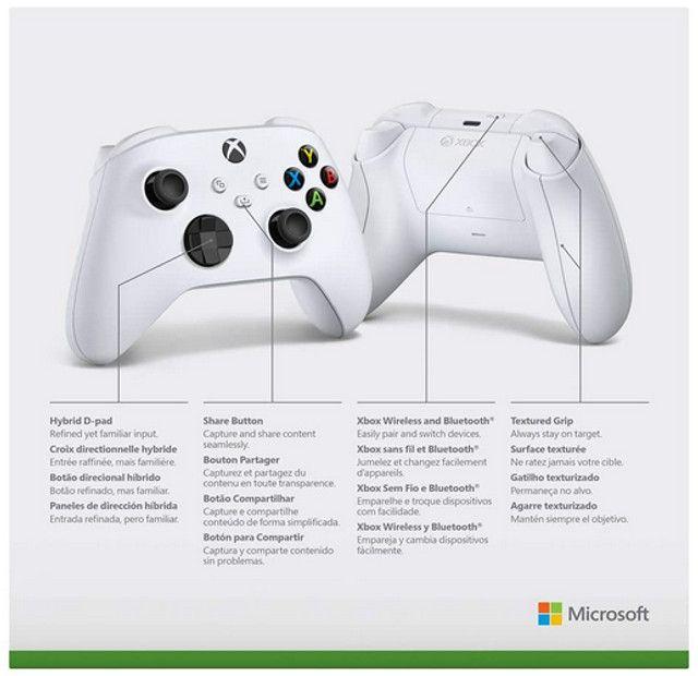 Controle Xbox Series Robot White - Foto 2