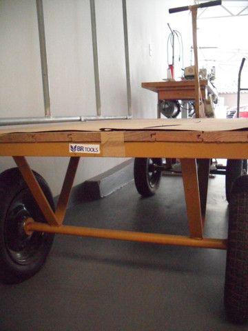 Carrinho de transporte 04 rodas - Foto 3