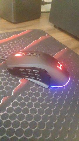 Mouse  Warrior Moray MO278 - RGB - Foto 2