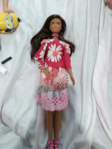 Boneca barbie  negra - Foto 2