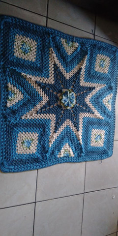 Super promoção de tapetes em crochê - Foto 4