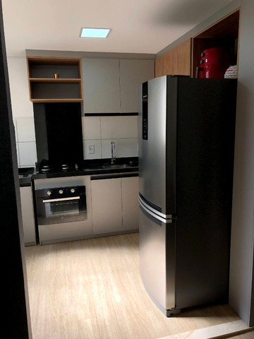 Apartamento novo com 2 dorm. semi-mobiliado, decorado pronto pra morar - Areis-São José - Foto 4