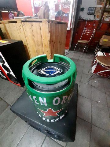 Caixa som Heineken com bluetooth $$$499 reais  - Foto 6