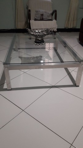 Mesa de centro tampo de vidro  - Foto 3