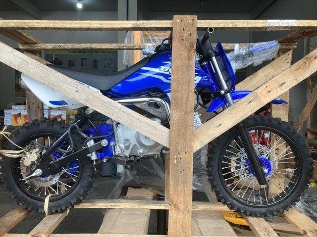 Minimoto TR100F Pro Tork 100cc aro 14/12 Motocross - Foto 4