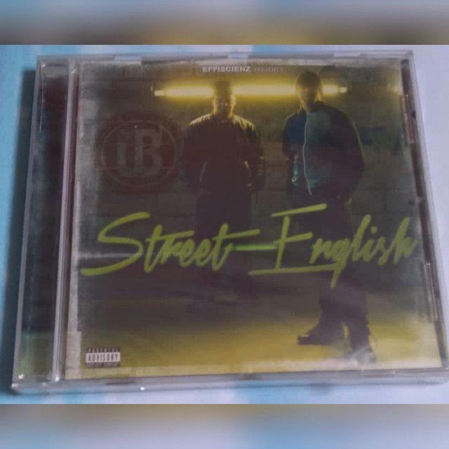 CD lacrado! Artista: Union Blak Álbum: Street English. lançamento: 9 de fevereiro de 2015
