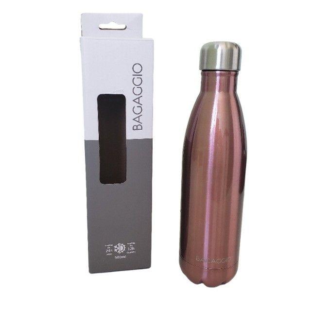 Usada - Garrafa Térmica Bagaggio Rosé 500ml