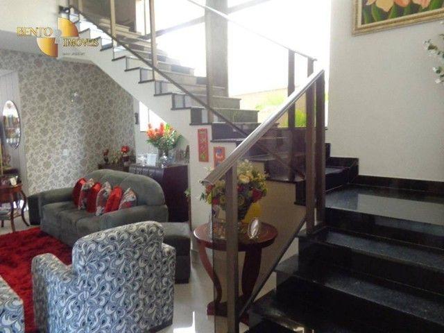 Casa com 5 dormitórios à venda, 490 m² por R$ 2.200.000,00 - Condomínio Florais Cuiabá Res - Foto 19