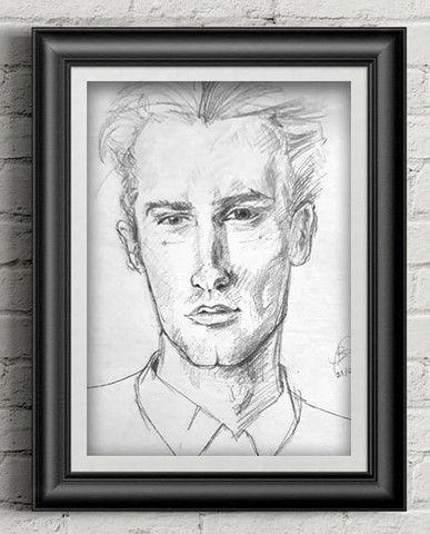 ?Retrato/ Desenho realista personalizado???