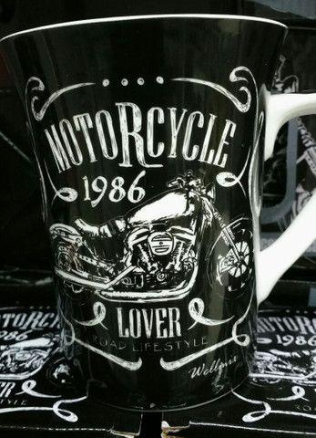 Caneca cerâmica Motorcycle 1986 340ml - Foto 3