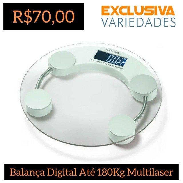 Balança Digital Eatsmart Multilaser Até 180Kg