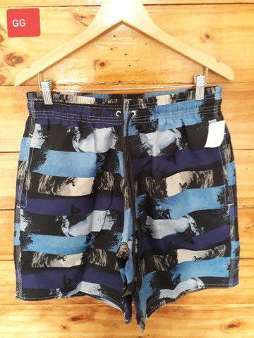 Shorts mauricinho estampados do P ao GG  - Foto 4