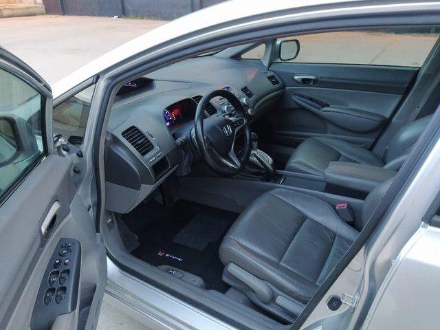 Civic LXL 2010, baixa km, carro top, muito inteiro. - Foto 5