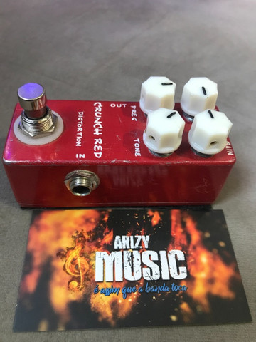 Pedal Mosky Crunch Red Distortion (Mi Crunch) - Arizy Music - Foto 3