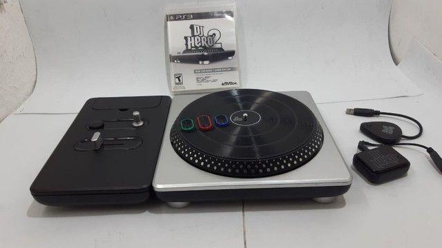 Jogo DJ Hero 2 Na Caixa com Mesa
